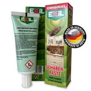 Гель Exil Эффективное средство от тараканов в квартире